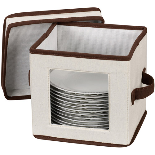 Household Essentials Window Vision Salad Plate/Bowl Chest