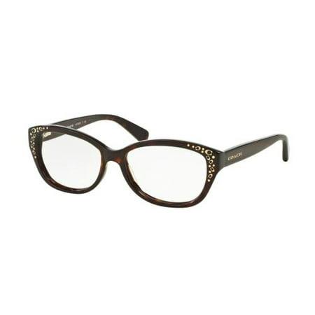 c6ac03326d COACH Eyeglasses HC 6076 5120 Dark Tortoise 51MM - Walmart.com