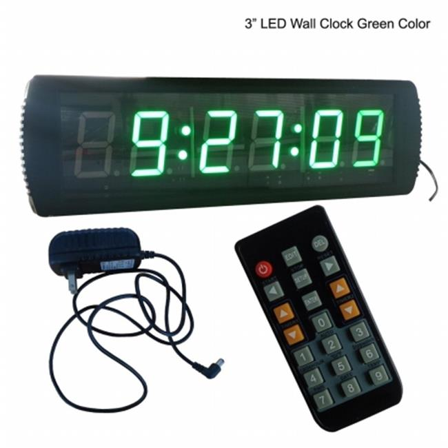Ganxin IN6T3G 4 in. 3 Digits LED Seconds Timer, Support S...