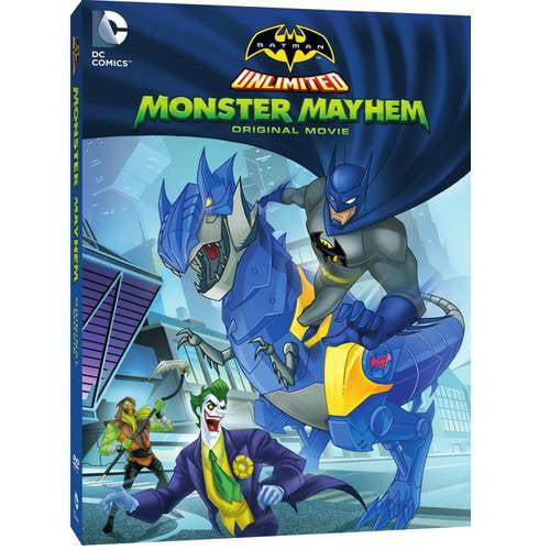 Batman Unlimited: Monster Mayhem (Walmart Exclusive) (With INSTAWATCH) (WALMART EXCLUSIVE) by
