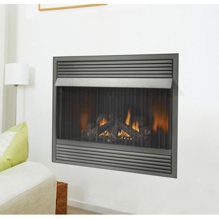 Napoleon GVF36 30,000 BTU Vent Free Zero Clearance Gas Fireplace Napoleon Torch Gas Fireplace