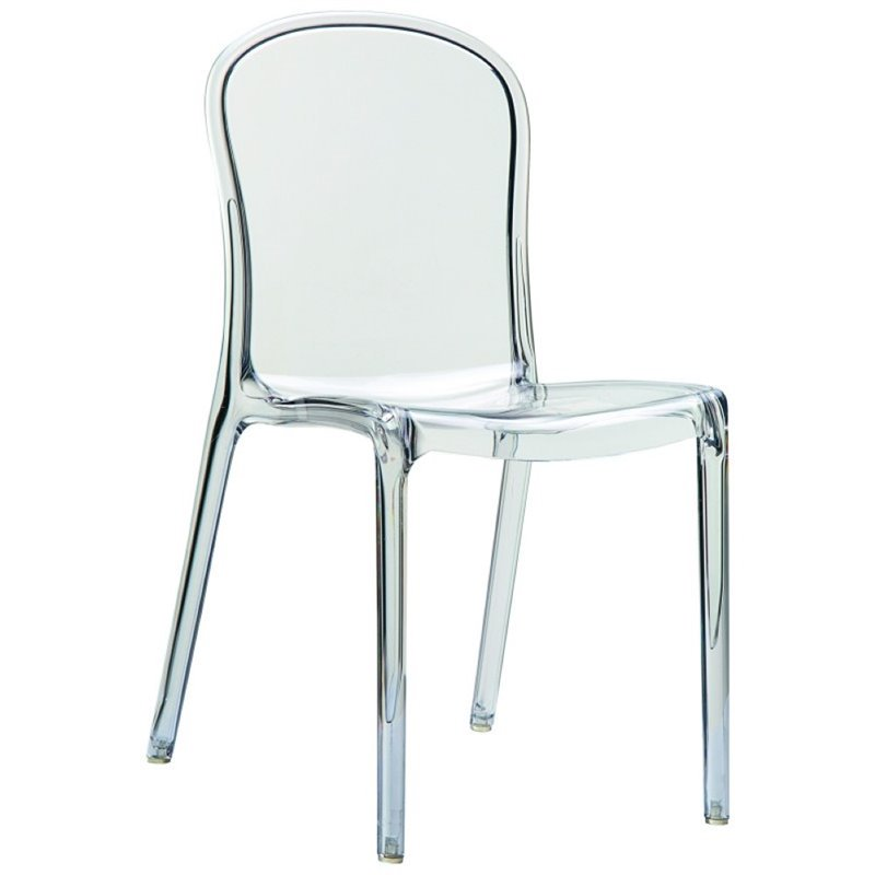 Compamia Victoria Patio Dining Chair in Glossy White