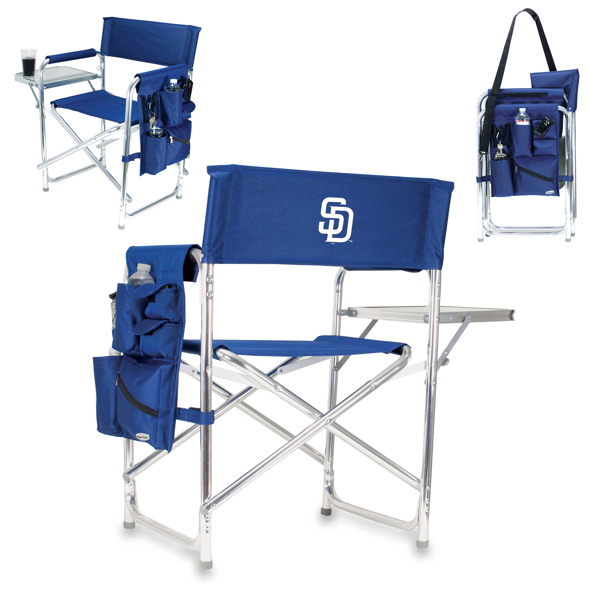San Diego Padres Sports Chair - Navy - No Size