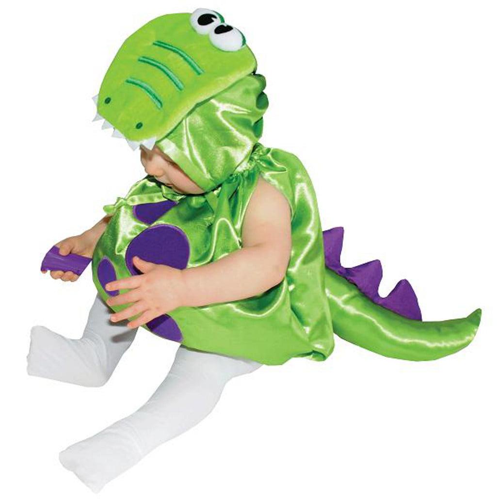 dinosaur baby halloween costume : infant costume green dinosaur