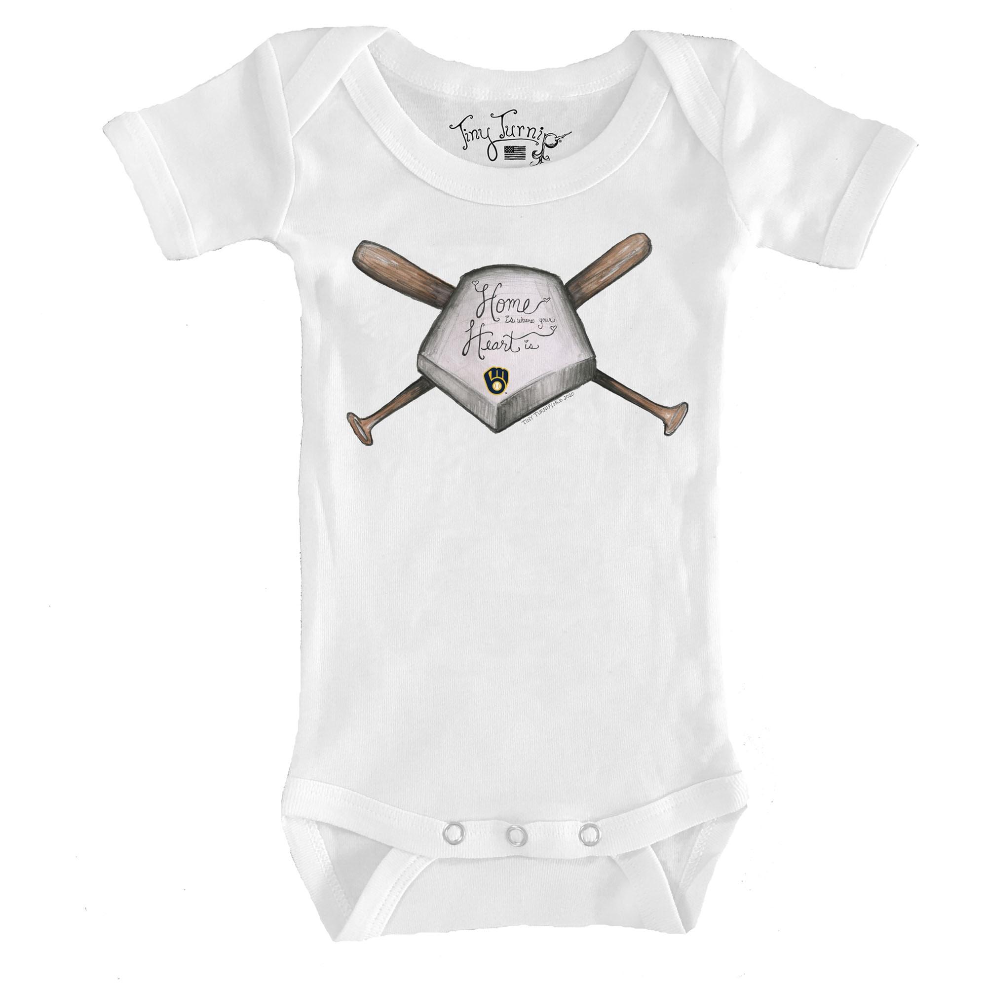 White /'I Heart MKE/' Infant Bodysuit