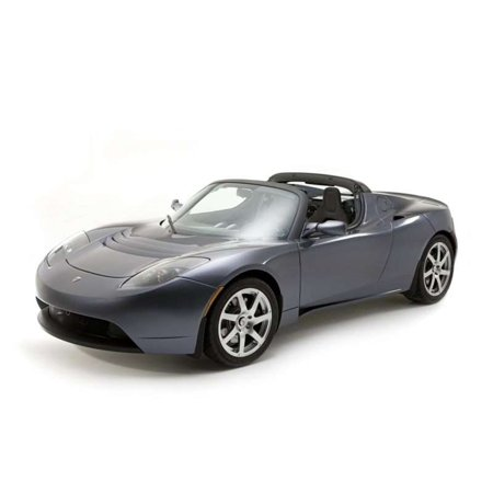 Laminated Poster 2009 Tesla Roadster Car Poster Print 24x16 Adhesive Decal (2009 Tesla Roadster)