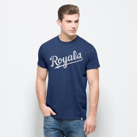 Kansas City Royals 47 Brand Blue All Pro Flanker Cooperstown Cotton T-Shirt by