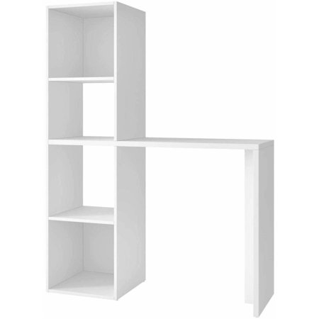 Image of Manhattan Comfort Accentuations Campania Cubby Desk with 4 Shelves