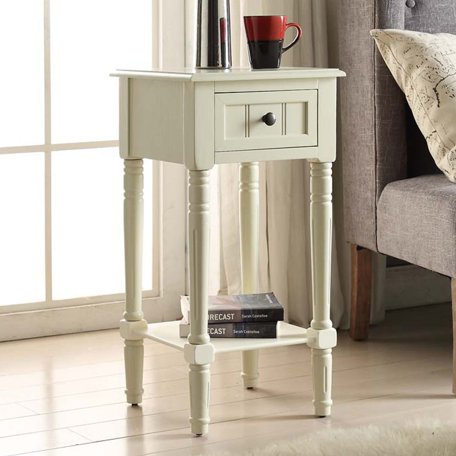 4D Concepts Simplicity 1 Drawer End Table by 4D Concepts