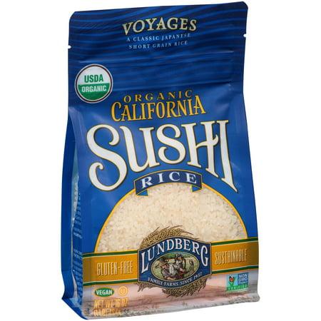 Lundberg Organic California Sushi Rice  16 0 Oz