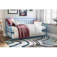 Novogratz Bright Pop Metal Daybed and Trundle Twin, Multiple Colors