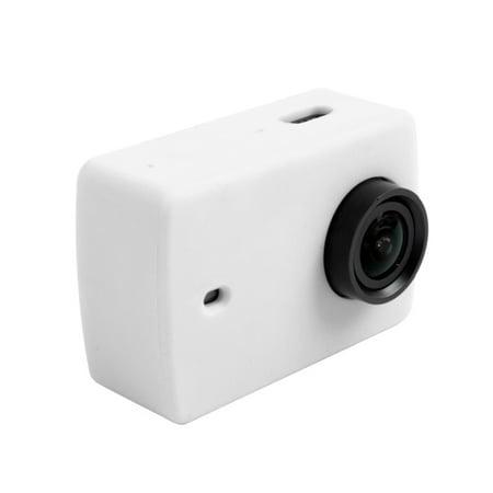 AMZER Silicone Housing Protective Case Cover Shell for Xiaomi Xiaoyi Yi II Sport Action Camera Sport Camera Case