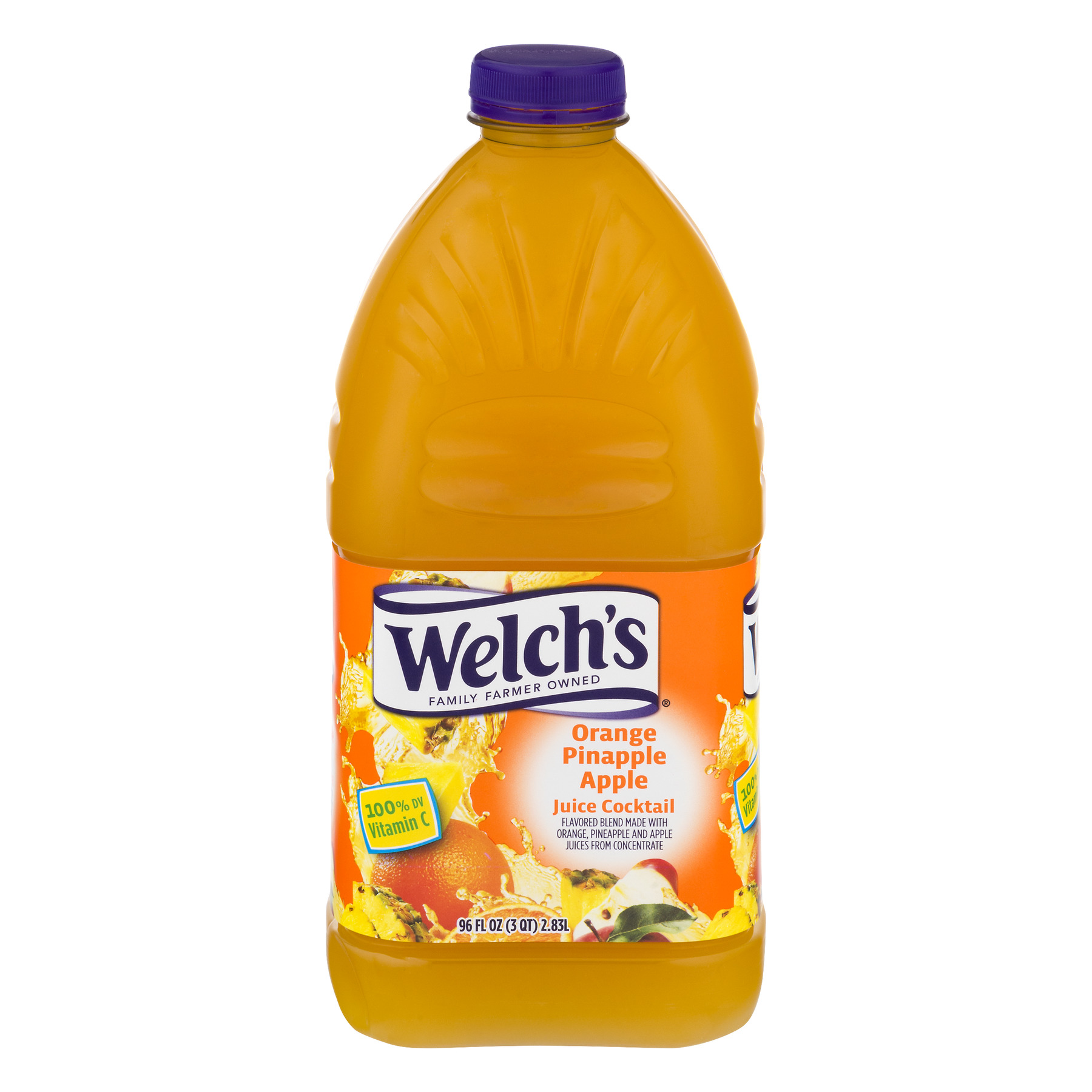 Welch's Juice Cocktail, Orange Pineapple Apple, 96 Fl Oz, 1 Count