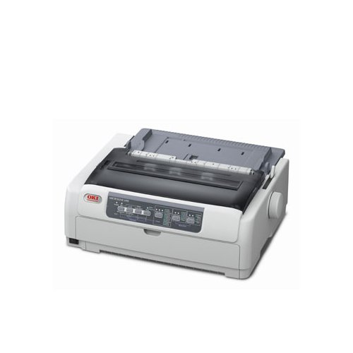 Oki 62433901 MICROLINE 621 9-pin Dot Matrix Printer - Monochrome