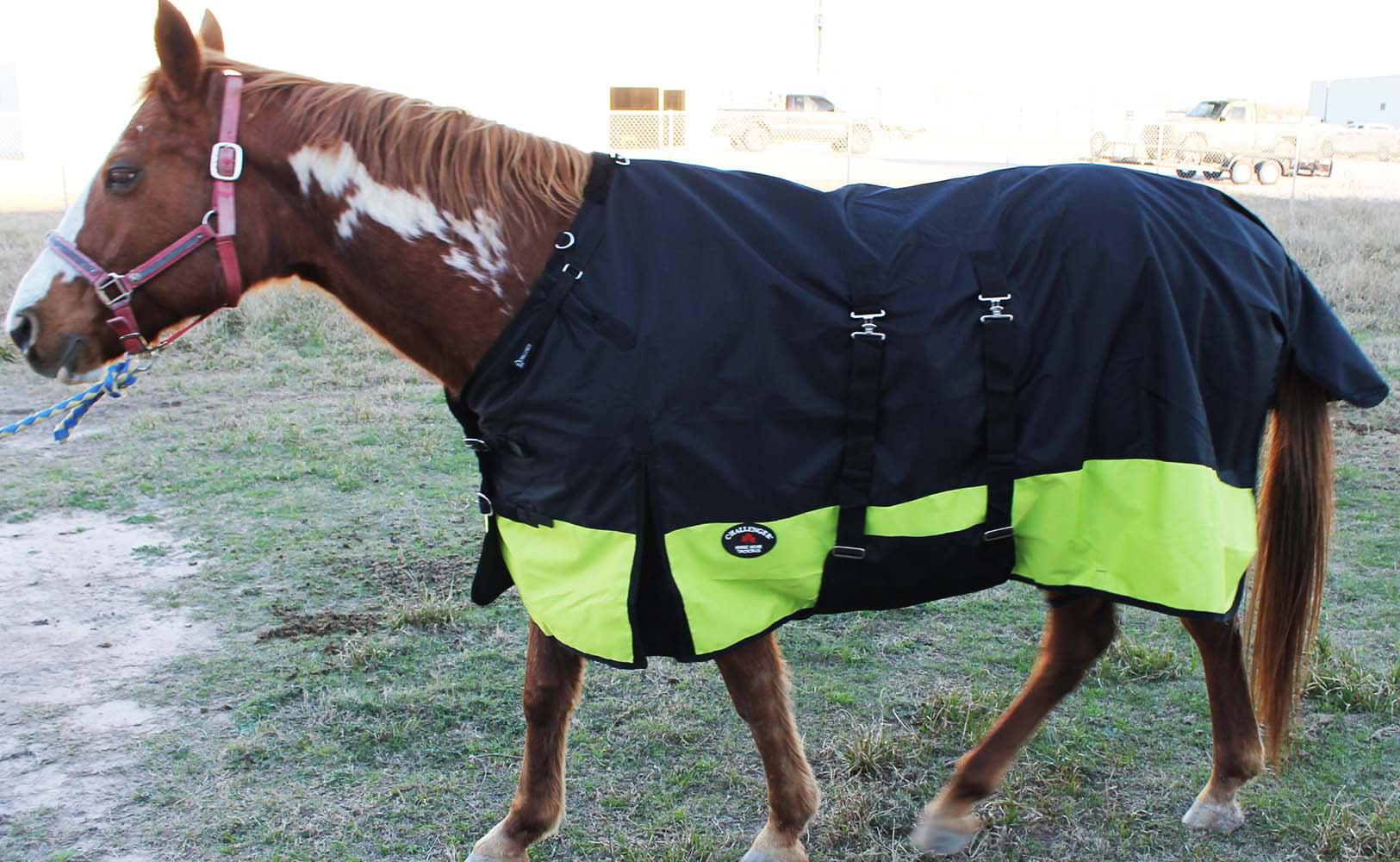 1200D Turnout Waterproof Rain Horse SHEET Light Winter Blanket Bellyband 356B