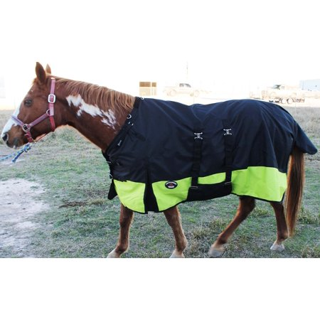 1200D Turnout  Horse SHEET Light Winter Blanket  -