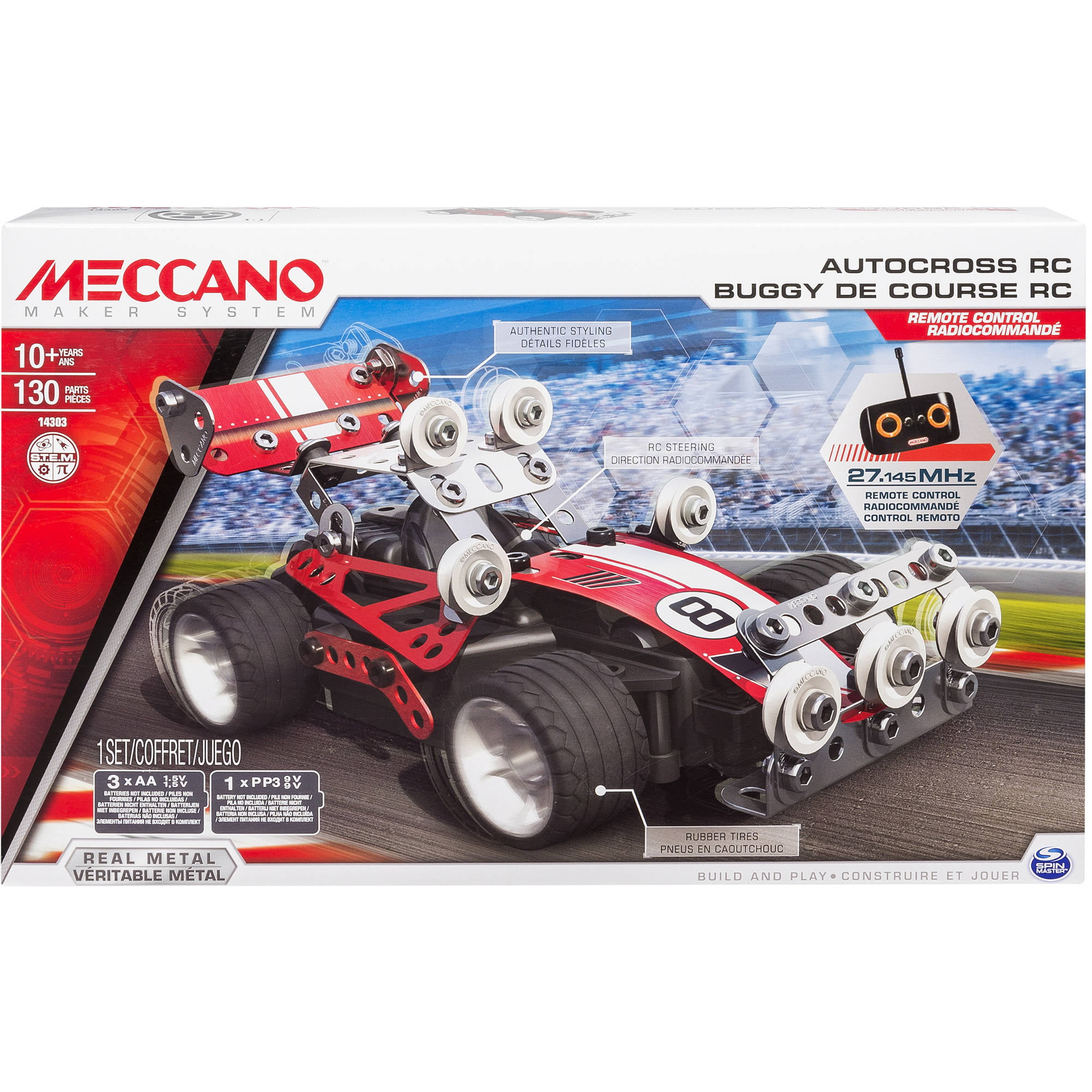 Meccano-Erector Autocross RC Model Set by SPIN MASTER