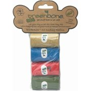 Greenbone Waste Bag Bio-Refill Rolls, 4pk, 48 Bags