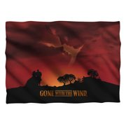Gone With The Wind Sunset Pillow Case White One Size