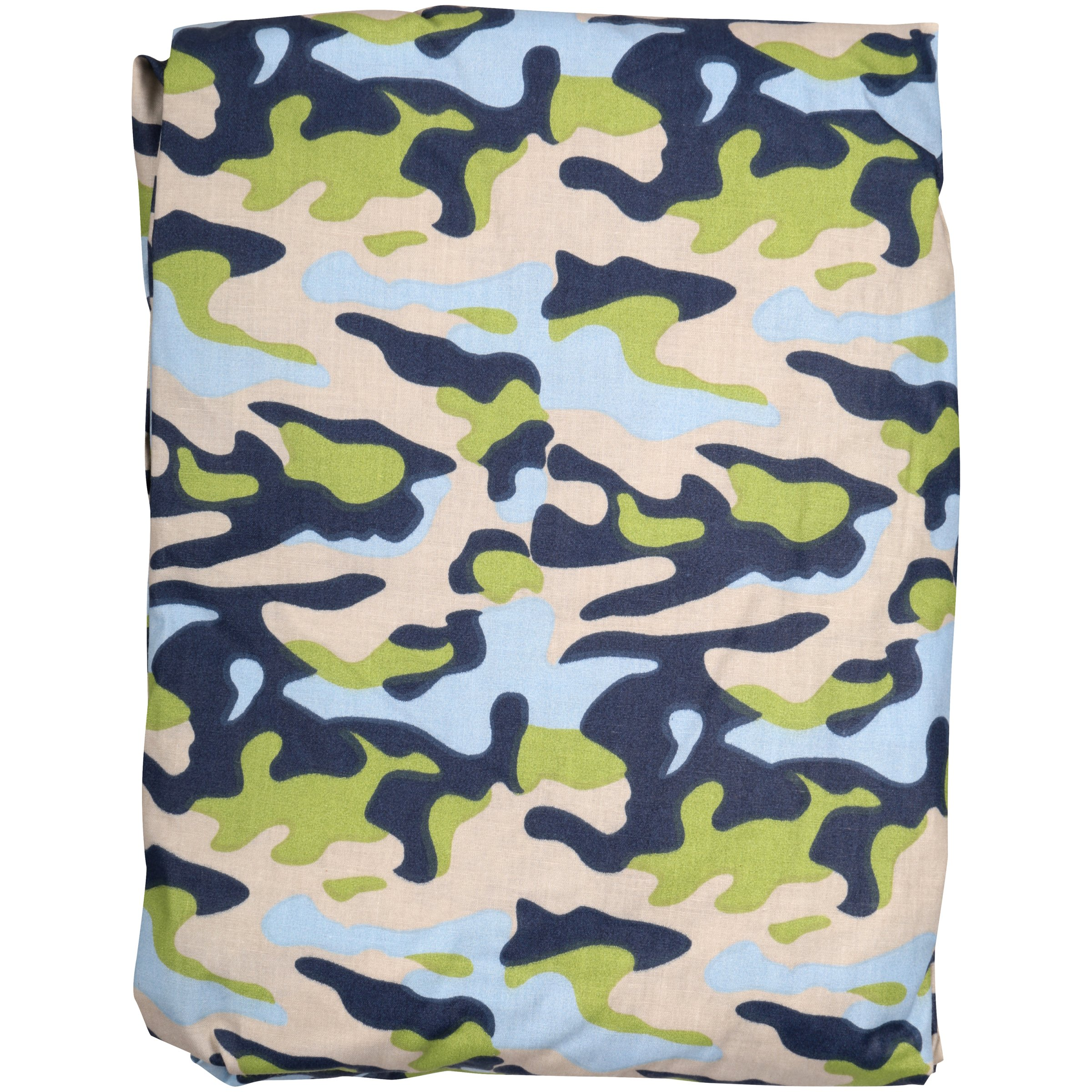 Bacati Camo Air Printed Crib Fitted Sheet Set 2 pc Pack