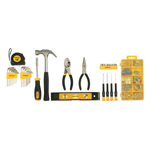 Stanley STMT74101 38-Piece Home Repair Mixed Tool Set, with Bag