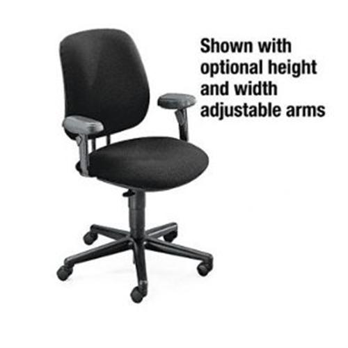 HON 7700 Series Swivel Task Chair - Black 7701AB10T