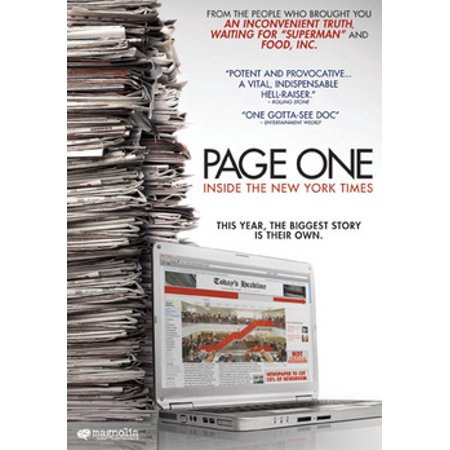 Page One: Inside the New York Times (DVD)