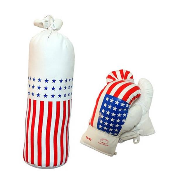 120-10 USA Mini Punching Bag Set, 10 oz