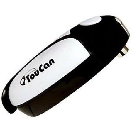 - Toucan Can Opener- The Worlds Easiest Hands Free Automatic Electric Smooth Edge Can Opener