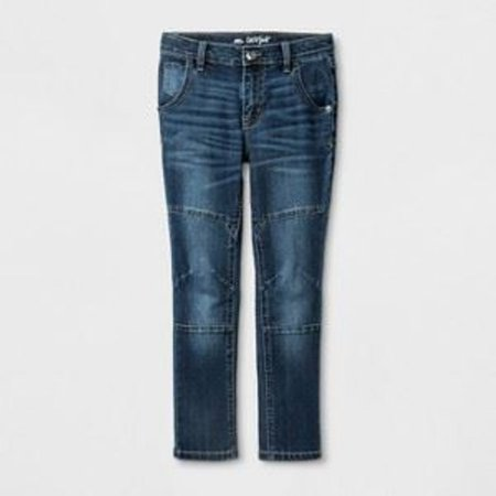 Cat & Jack Boys' Skinny Jeans, Medium - Blue 7 - NEW