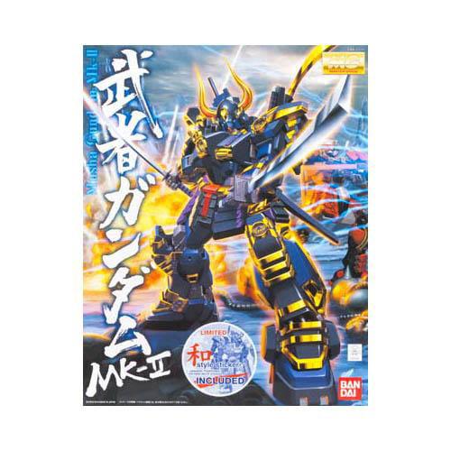 Bandai Hobby Dynasty Warriors Gundam Musha Gundam MK-II MG 1 100 Scale Model Kit by Bandai Hobby