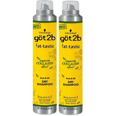 got2b Collagen Infusion Mousse fat-tastic Instant - 8.5 Ounces , 2pk