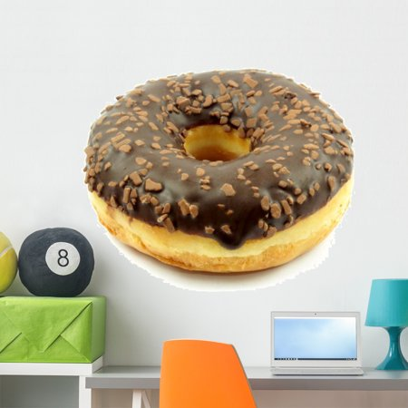 Chocolate Doughnut Wall Mural By Wallmonkeys Peel And Stick Graphic 36 In W X 24 In H Wm278451