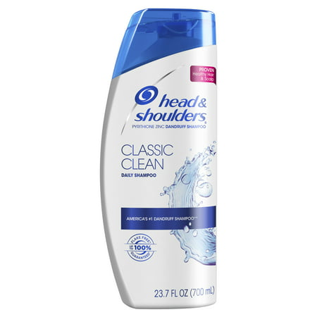 Head and Shoulders Classic Clean Daily-Use Anti-Dandruff Shampoo, 23.7 fl (Best Drugstore Shampoo And Conditioner For Oily Hair)