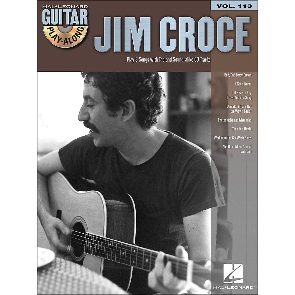 Hal Leonard Jim Croce - Guitar Play-Along Volume 113 (Book/CD)