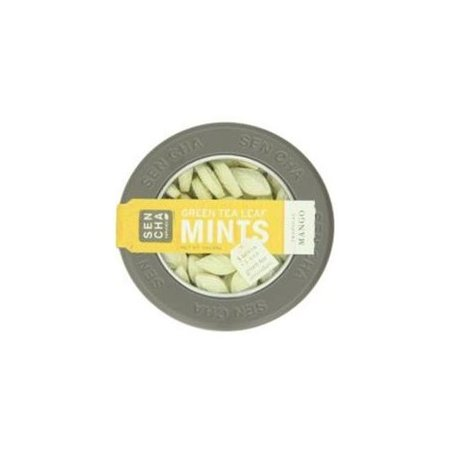 Sencha Naturals Green Tea Mints, Tropical Mango, 1.2 Ounce Canister