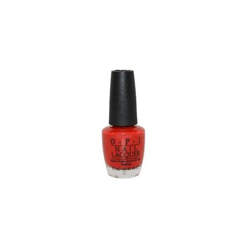OPI W-C-2582 Nail Lacquer No.  NL Z13 Color So Hot It Berns - 0. 5 oz - Nail Polish
