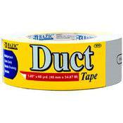 "Bazic BAZIC 1.88"" X 60 Yards Silver Duct Tape"