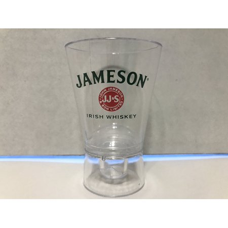 Bottle Top Plastic Bottle Stop Shot Glass - Set of 2, Set of 2 John Jameson & Sons Signature Bottle Topper Shot Glass By - Shot Bottles