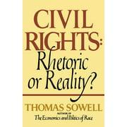 Civil Rights: Rhetoric or Reality? (Paperback)