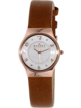 Skagen Women's Brown Grenen Crystallized Dial Watch SKW2210