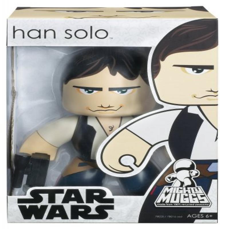 Star Wars Mighty Muggs Figure, Han Solo