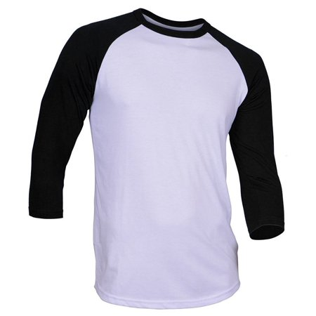 Rd Super Soft Mens 3 4 Sleeve Baseball T Shirt Fitted Plain Jersey 1Rda3401