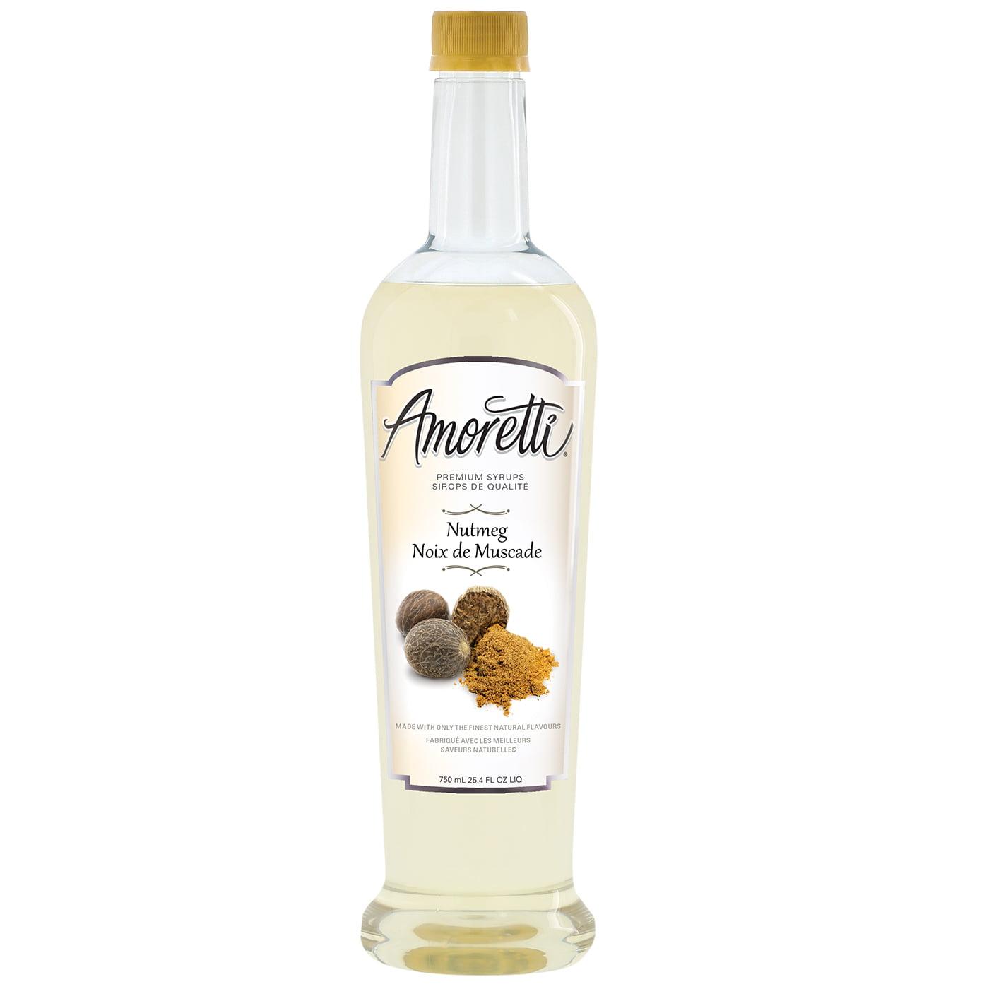 Amoretti Premium Nutmeg Syrup (750mL) by Amoretti