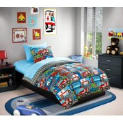 Heritage Club Heroes at Work Bed in a Bag Bedding Set