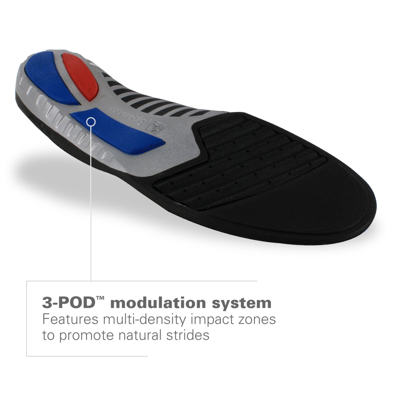 Women/'s 9-10.5//Men/'s 8-9.5 Spenco Total Support Max Shoe Insoles