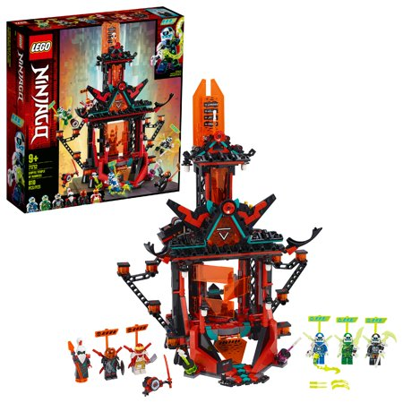 LEGO NINJAGO Empire Temple of Madness Ninja Temple Building Kit 71712