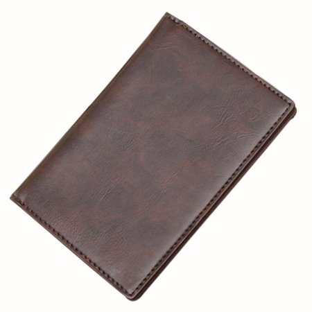 matoen Men Leather Card Cash Receipt Holder Organizer Bifold Wallet Purse CO (Receipt Organizer Wallet)