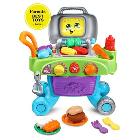Leap Frog Smart Sizzlin' Bbq Grill Learning Toy With Food And Tools by Leap Frog