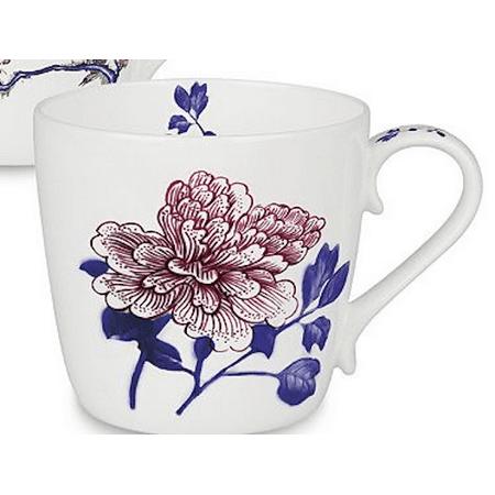 Waechtersbach Konitz Porcelain Mug   Butler Peony